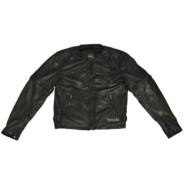 バギー Buggy 2017年春夏モデル 袖脱着式パンチングシープジャケット 黒 Lサイズ BAS1716 JP店