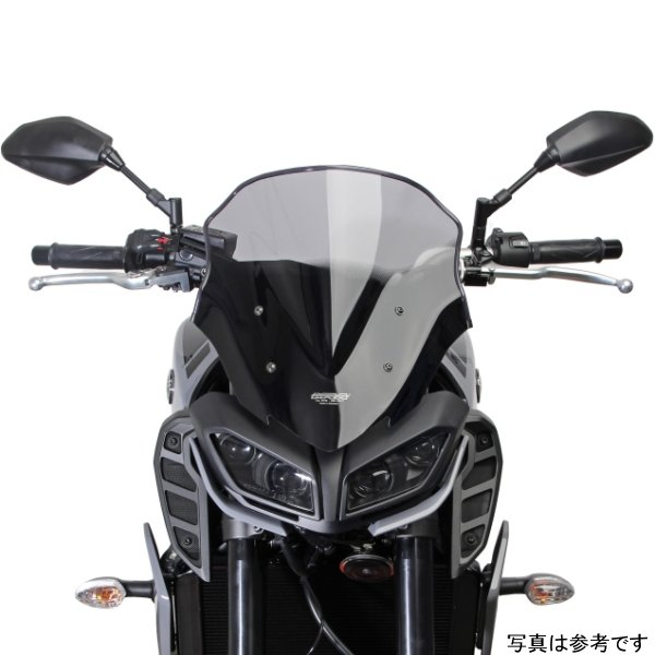 【メーカー在庫あり】 エムアールエー MRA スクリーン レーシング 17年 MT-09 黒 MR273K JP店