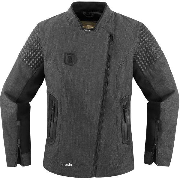 【USA在庫あり】 アイコン ICON 春夏モデル ジャケット TUSCADERO レディース 黒 Mサイズ 2822-0900 JP店