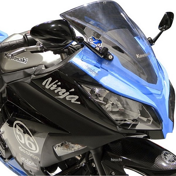 56デザイン 56RACING ミラーセット レーシングスタイル 13年 Ninja250 56206 JP店