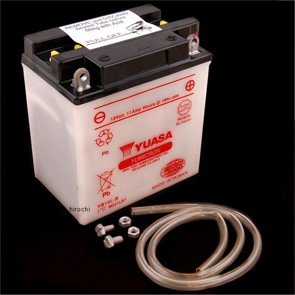 【USA在庫あり】 ユアサ YUASA バッテリー 開放型 YB10L-B JP店
