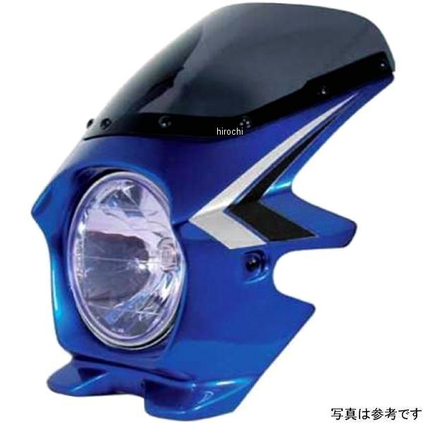 ブラスター BLUSTER2 ビキニカウル CB400SF H-V キャンディフェニックスブルー ライン エアロ 93039 JP店
