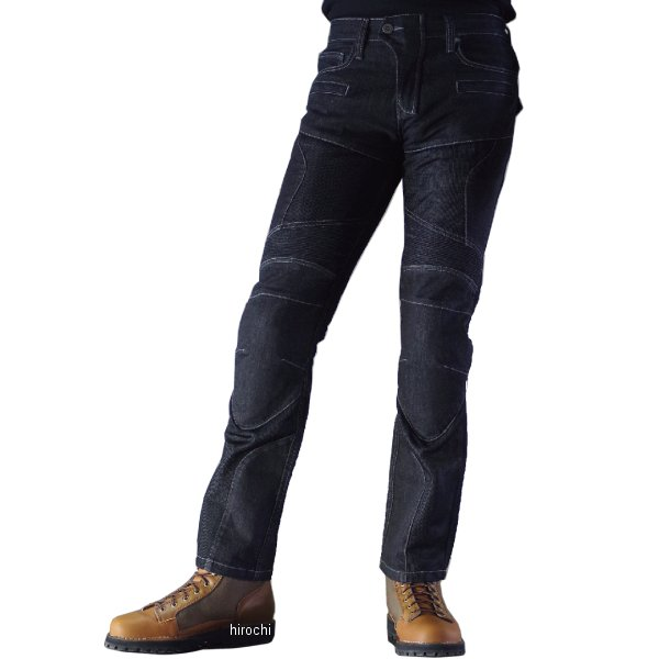 【メーカー在庫あり】 WJ-739S コミネ KOMINE 春夏モデル スーパーフィット プロテクトメッシュジーンズ 黒 4XLB/44サイズ 4573325722064 JP店