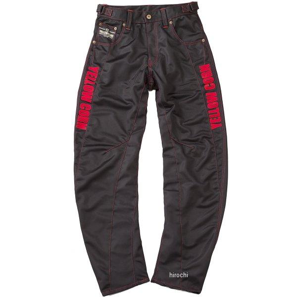 YP-7330 イエローコーン YeLLOW CORN 春夏モデル メッシュパンツ 黒/赤 Mサイズ YP7330 JP店
