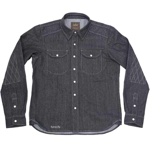 カドヤ KADOYA 春夏モデル ワークシャツ RIDE WORK 黒 Lサイズ 6561 JP店