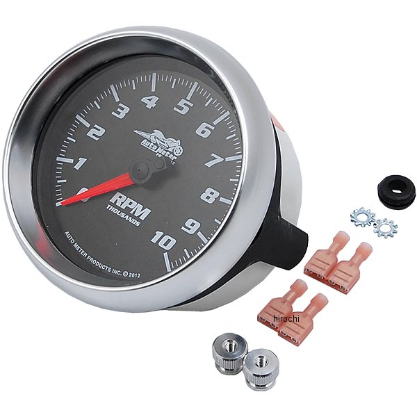 【USA在庫あり】 オートメーター Autometer 3-3/8インチ(86mm) タコメーター コバルト 2211-0112 JP