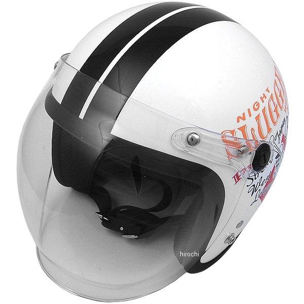 【メーカー在庫あり】 ナックルヘッド Knuckle Head ヘルメット PLAY BONES 白/黒 フリーサイズ (57cm-60cm未満) RJ605 JP店