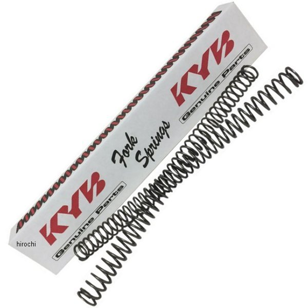 【USA在庫あり】 カヤバ KYB TechnicalTouch フォーク スプリング 07年-14年 KX、YZ 48mm 4.5N/mm 0405-0231 JP