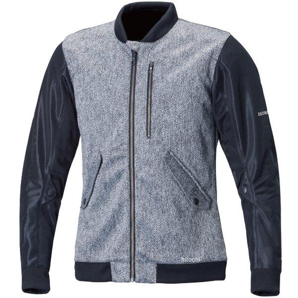 ホンダ純正 春夏モデル カジュアルメッシュジャケット グレー/黒 4Lサイズ 0SYTH-X3K-N JP店