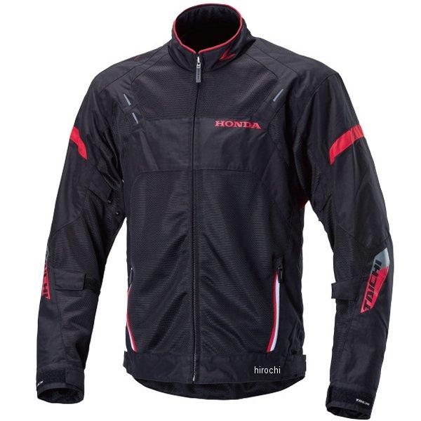 ホンダ純正 春夏モデル Honda×RSタイチ クロスオーバーメッシュジャケット 黒/赤 Lサイズ 0SYTP-X39-K JP店