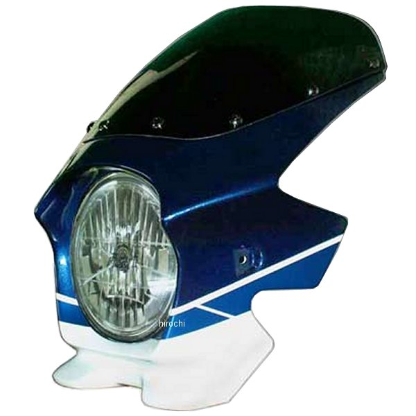 ブラスター BLUSTER2 ビキニカウル 07年-08年 GSX1400 パールスズキディープブルーNO2/グラススプラッシュホワイト 23234 JP店