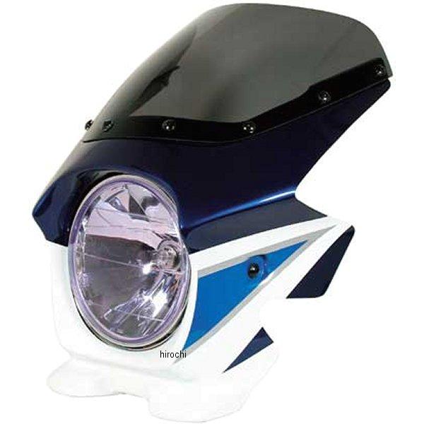 ブラスター BLUSTER2 ビキニカウル 03年-04年 GSX1400 スズキディープブルーNO2/グラススプラッシュホワイト 23228 JP店