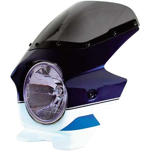 ブラスター BLUSTER2 ビキニカウル 01年 GSX1400 パールスチルホワイト/パールミディアムブルー エアロ 93225 JP店