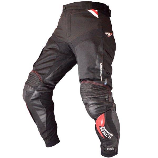 シールズ SEAL'S 春夏モデル コンプレックス メッシュパンツ ブーツイン 黒 Lサイズ SLP-321 JP店