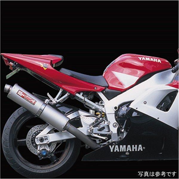 ヤマモトレーシング スリップオンマフラー 98年-01年 YZF-R1 チタン DOWNタイプ カーボン 21001-01DCN JP