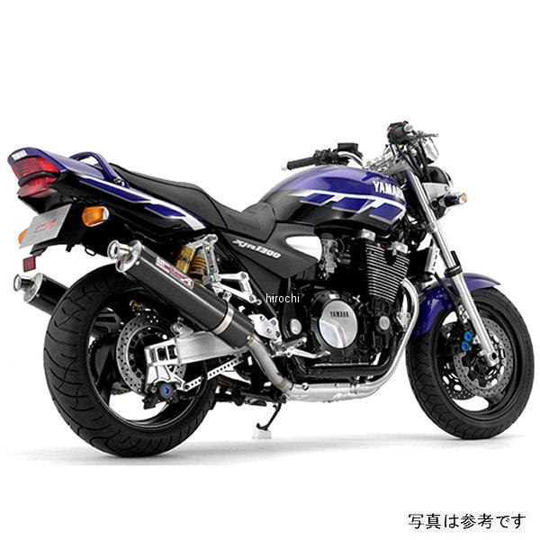 ヤマモトレーシング スリップオンマフラー 00年-02年 XJR1300 デュアル チタン 21300-02NTB JP