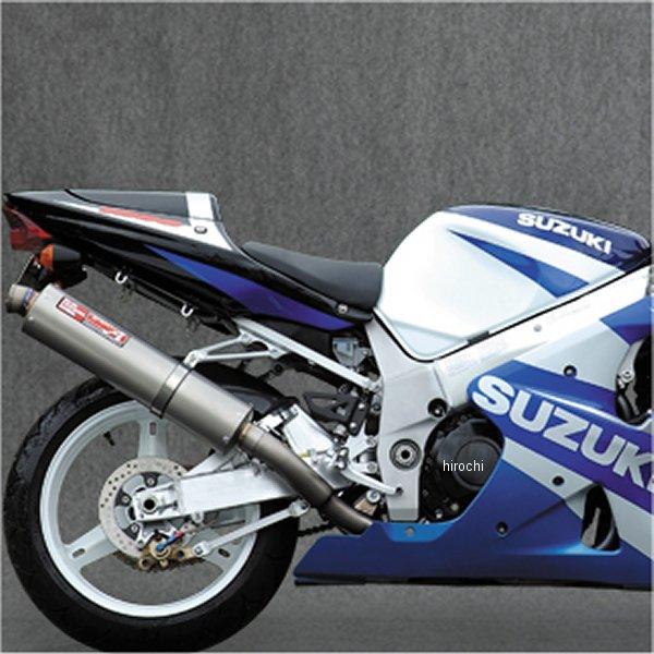 ヤマモトレーシング スリップオンマフラー 01年-04年 GSX-R1000 UPタイプ チタン 31000-01UTB JP