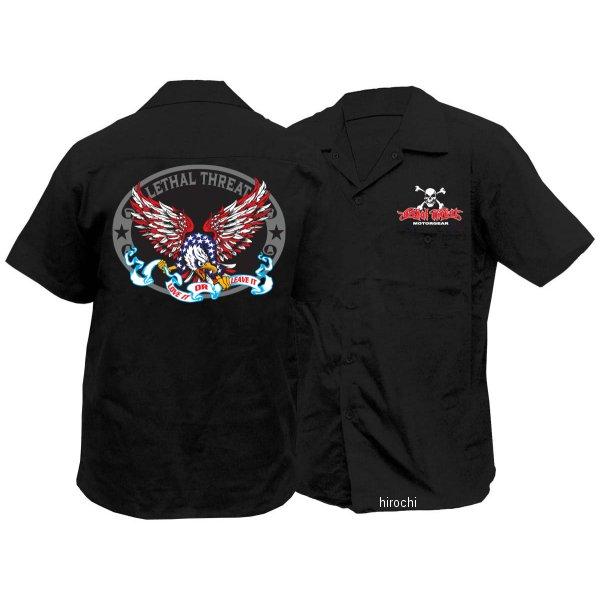 【USA在庫あり】 Lethal リーサルスレット Lethal Threat ワークシャツ USAイーグル Mサイズ 765490 JP