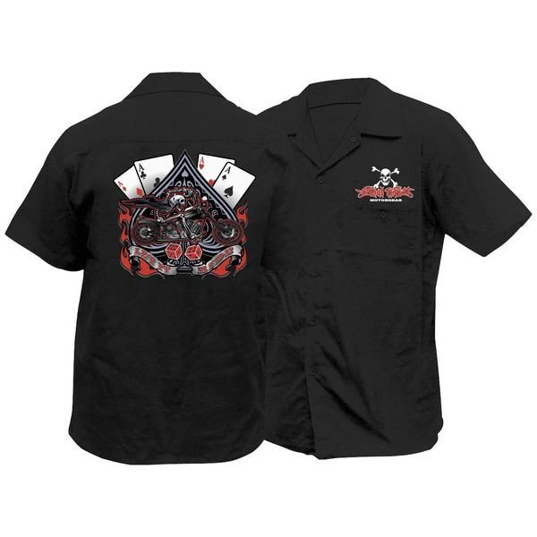 【USA在庫あり】 Lethal リーサルスレット Lethal Threat ワークシャツ LET IT RIDE 2XLサイズ 765567 JP