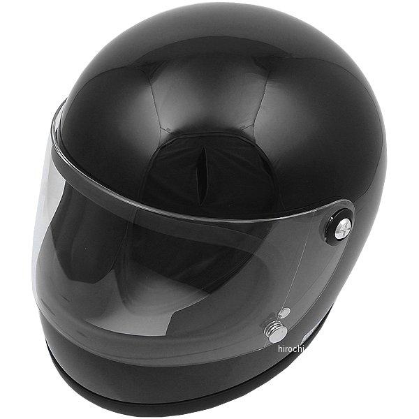 山城 ヘルメット ニューレトロフルフェイス 黒 Sサイズ YKH002BK JP店