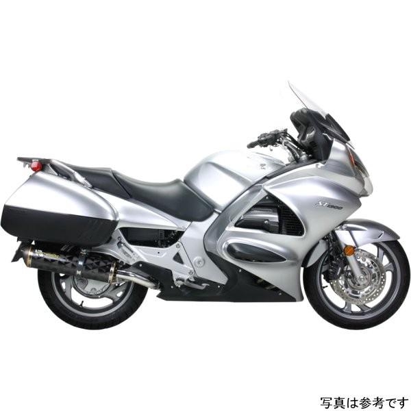 ツーブラザーズレーシング スリップオンマフラー ブラックシリーズ M-2 デュアル 03年-12年 ST1300 アルミ 005-620406DM-B JP店
