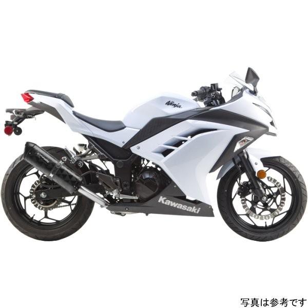 ツーブラザーズレーシング フルエキゾースト ブラックシリーズ M-2 13年-15年 ニンジャ300 チタン 005-3270108V-B JP店