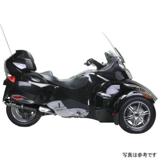 ツーブラザーズレーシング スリップオンマフラー ブラックシリーズ M-5 10年-12年 スパイダー チタン 005-3230420V-B JP店