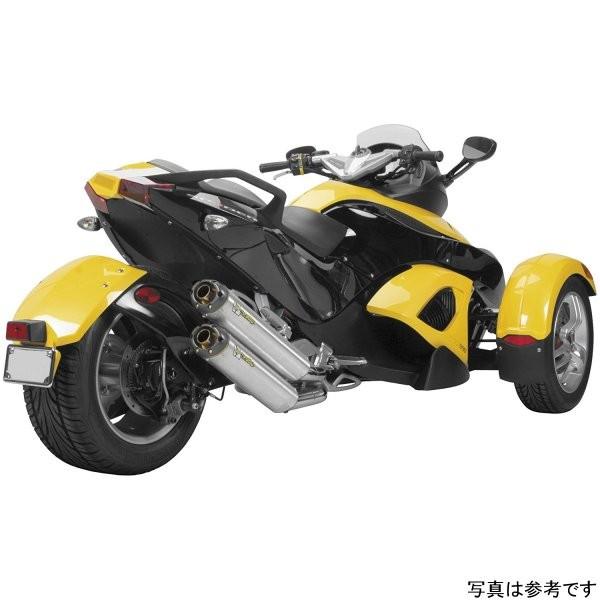 ツーブラザーズレーシング スリップオンマフラー シルバーシリーズ M-2 デュアル 08年-12年 スパイダー アルミ 005-2290406DV-S JP店