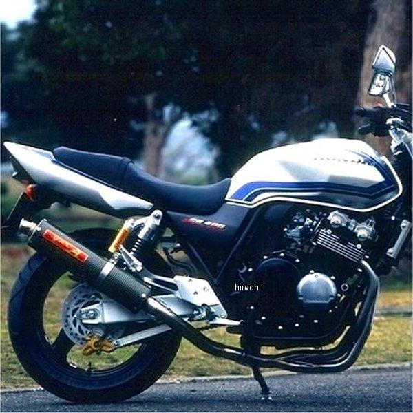 ヤマモトレーシング フルエキゾースト 99年-07年 CB400SF VTEC 4-2-1 カーボン 10410-21SCB JP