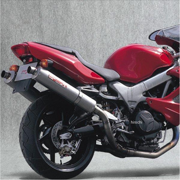 ヤマモトレーシング フルエキゾースト VTR1000F 2-1-2 UPタイプ チタン レース用 11003-52TTN JP