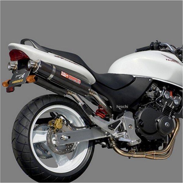 ヤマモトレーシング フルエキゾースト ホーネット250 4-1-2 カーボン 触媒付き 10253-82SCC JP