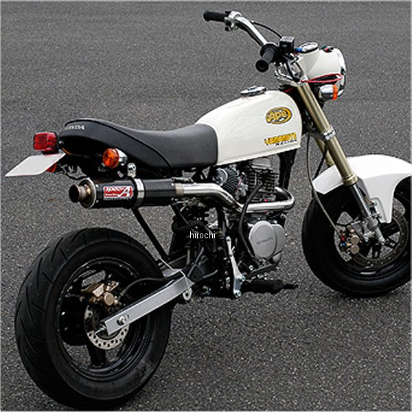 ヤマモトレーシング フルエキゾースト 02年-16年 エイプ100 UPタイプ II Ver カーボン 10061-SUC02 JP