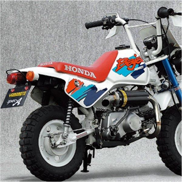 ヤマモトレーシング フルエキゾースト 91年-01年 モンキーBAJA専用 スペックA TYPE-F カーボン 10060-MINIF JP