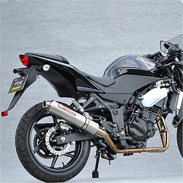 ヤマモトレーシング フルエキゾースト 08年-12年 ニンジャ250R 2-1 チタン 触媒付き 40251-61STC JP