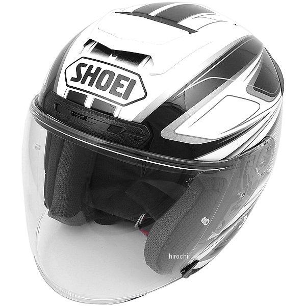 ショウエイ SHOEI ジェットヘルメット J-FORCE4 BRILLER TC-6 白/黒 XXLサイズ 4512048456627 JP店