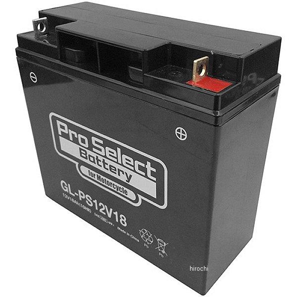 プロセレクト PROSELECT バイク用 バッテリー ジェルタイプ GL-PS12V18 NPH16-12T互換 (液入り充電済み) PSB175 JP店