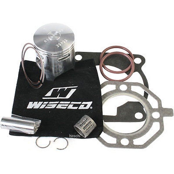 【USA在庫あり】 ワイセコ Wiseco ピストンキット 48x45.8mm 82cc ボア48.0mm STD 88年-90年 KX80 166465 JP店