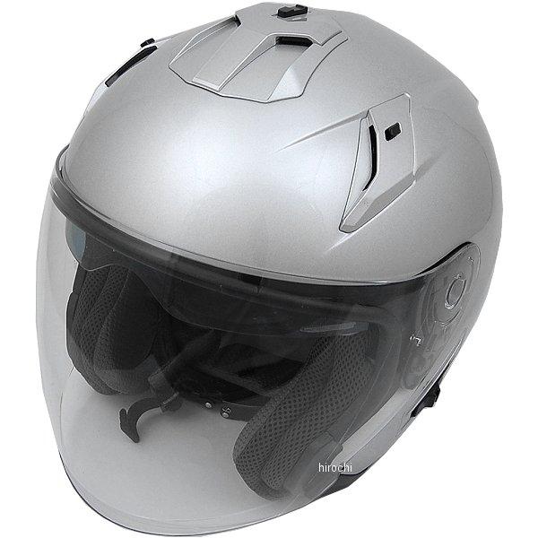 FH003 山城 フィオーレ FIORE TURISMO ジェットヘルメット シルバー Lサイズ 4547544044498 JP店