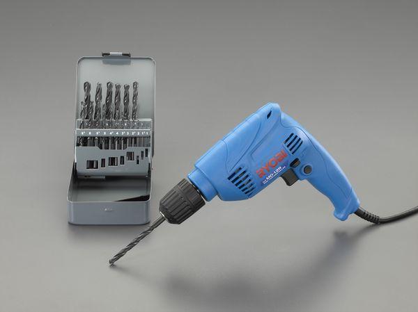 エスコ ESCO 10mm/240W 電気ドリルセット(正逆転付) EA801A-5S JP店