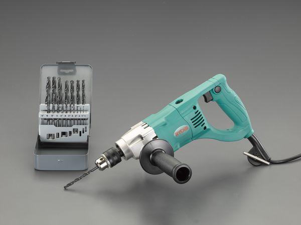 エスコ ESCO 10mm/390W 電気ドリルセット EA801AB-2S JP店