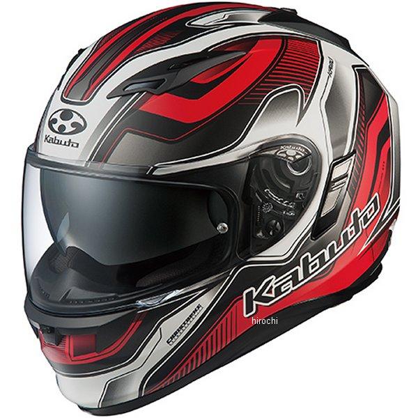 オージーケーカブト OGK KABUTO フルフェイスヘルメット KAMUI 2 HAMMER フラットブラックレッド XSサイズ 4966094569167 JP店