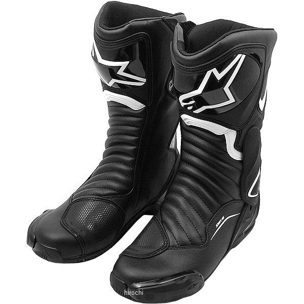 【メーカー在庫あり】 アルパインスターズ Alpinestars 春夏モデル ロードレーシングブーツ SMX-6 V2 黒/白 42サイズ (26.5cm) 8021506617853 JP店