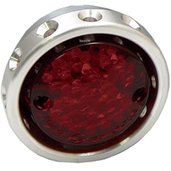 【メーカー在庫あり】 イージーライダース ドリルドテールライト LED アルミ 赤レンズ 5348-R1 JP店