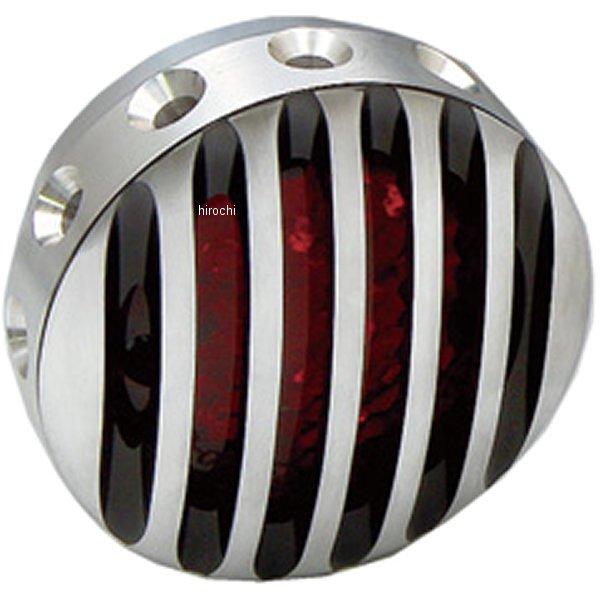 イージーライダース ドリルドフィンテールライト LEDセットコントラストフィンフェイス付き 赤レンズ 5904-R3 JP店