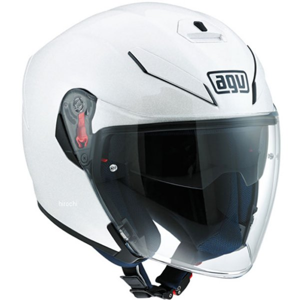 エージーブイ AGV ジェットヘルメット K-5 JET SOLID パールホワイト XLサイズ(61-62cm) 113194G0-001-XL JP店