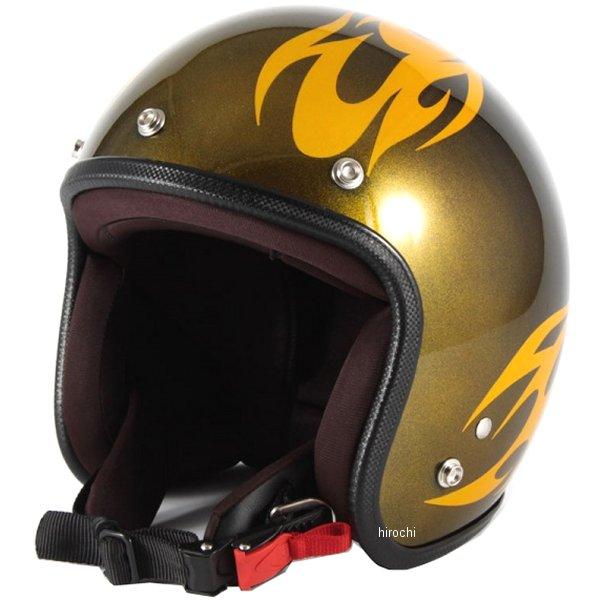 ナナニージャム 72JAM ジェットヘルメット カスタムペイントJAM BURNS 黄 フリーサイズ(57-60cm未満) JCP-02 JP店