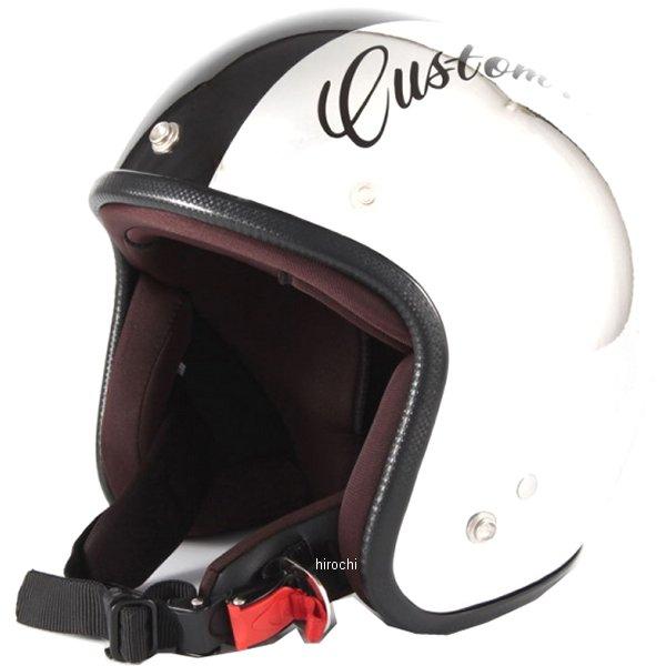 ナナニージャム 72JAM ジェットヘルメット カスタムペイントJAM CHROMES 黒 フリーサイズ(57-60cm未満) JCP-06 JP店