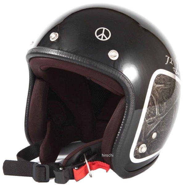 ナナニージャム 72JAM ジェットヘルメット カスタムペイントJAM WEED 黒 フリーサイズ(57-60cm未満) JCP-40 JP店