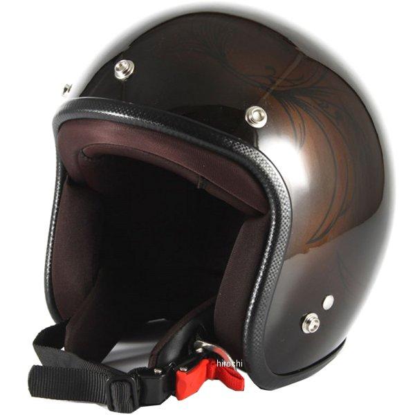 ナナニージャム 72JAM ジェットヘルメット LEAF ブラウン/黒 女性用サイズ(55-57cm未満) JCP-56 JP店