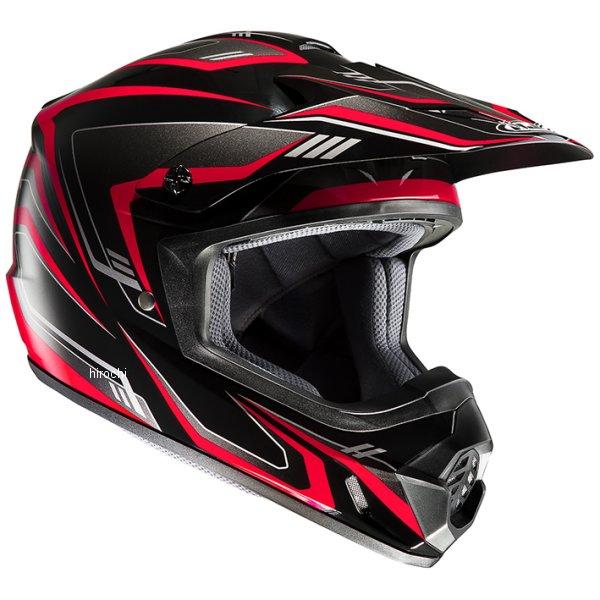 エイチジェイシー HJC オフロードヘルメット CS-MXエッジ 黒/赤 XLサイズ(61-62cm未満) HJH123BK01XL JP店